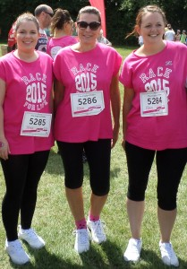 angels of eden race for life eden training